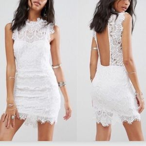 Free People Lace Day Dream Bride White Dress